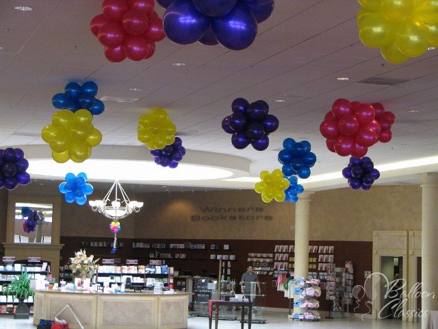 Balloonize your event for Balloon decoration for ceiling