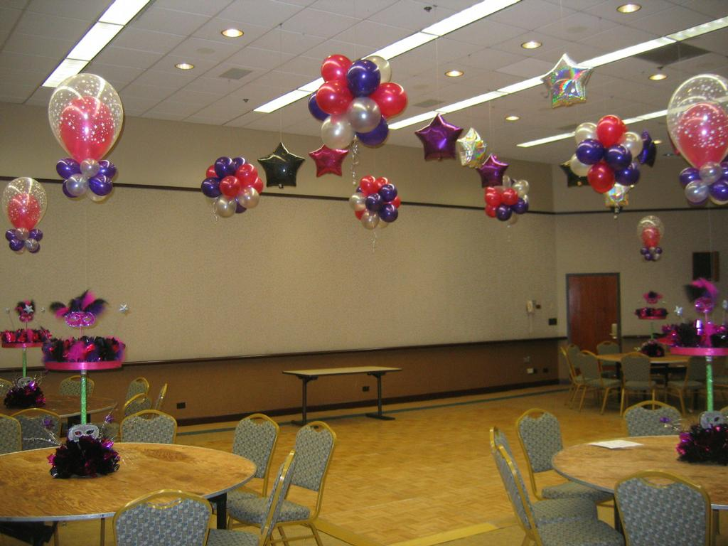 Balloons Hanging From Ceiling Ideas Birthday Www Imagez Co